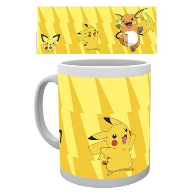 Pokemon Pikachu Evolution Mok