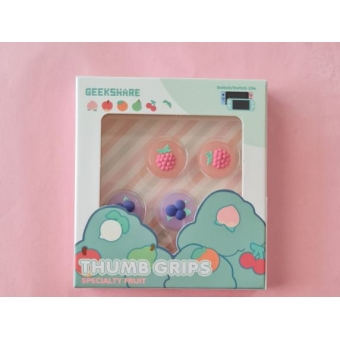 Switch Button Thumb Grips - Blueberry & Rasberry (2 designs)