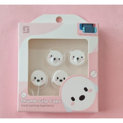Switch Button Thumb Grips - Polar Bear & Ghost (2 designs)