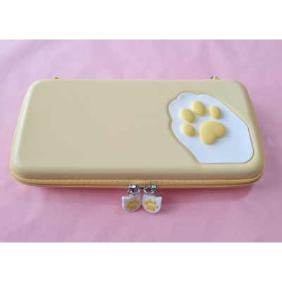 Switch Hard Cover Case - Cat Paw (geel)