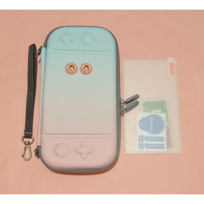 Switch Lite Hard Cover Case - Blauw/Roze