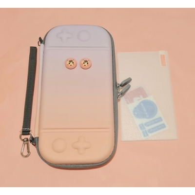 Switch Lite Hard Cover Case - Paars/Roze
