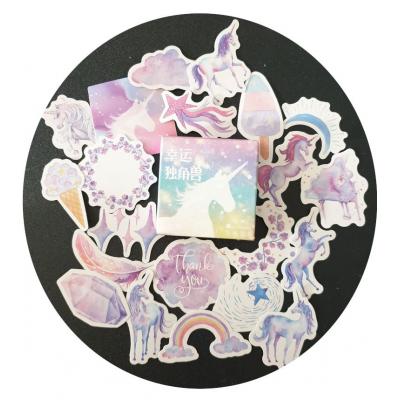Kawaii Unicorn Stickers 45 stuks