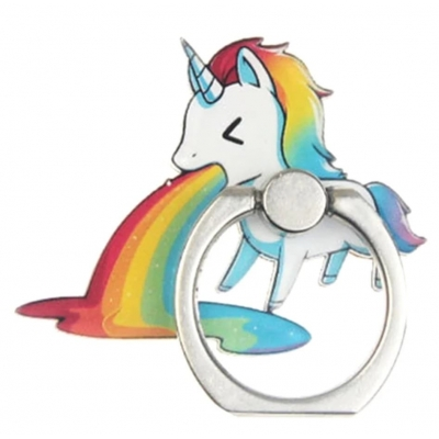Kawaii Unicorn Telefoon Ring (1)