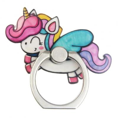 Kawaii Unicorn Telefoon Ring (2)