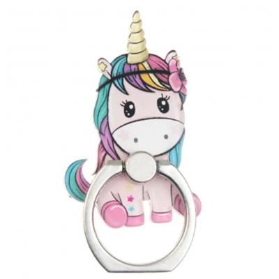 Kawaii Unicorn Telefoon Ring (3)