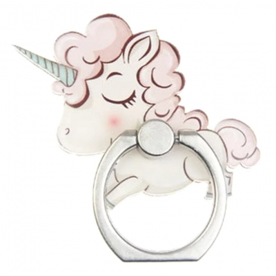 Kawaii Unicorn Telefoon Ring (4)