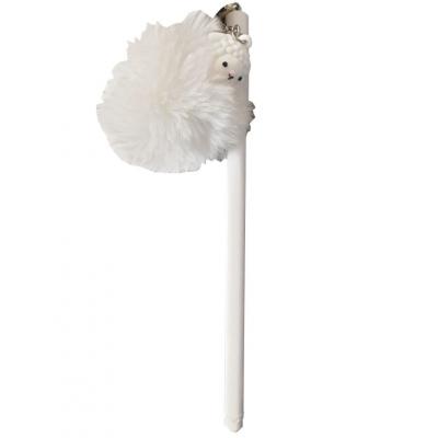 Kawaii Fluffy Lama Gelpen