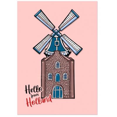 'Hello Holland' Molen Kaart