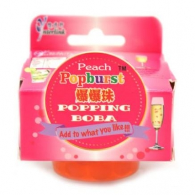 Popping Boba - Peach Flavour