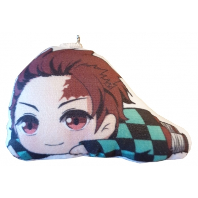 Demon Slayer Plush Keychain Tanjiro Kamado