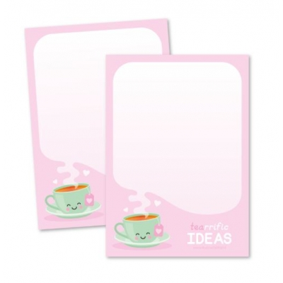Memoblok A6 - Tea-riffic Ideas