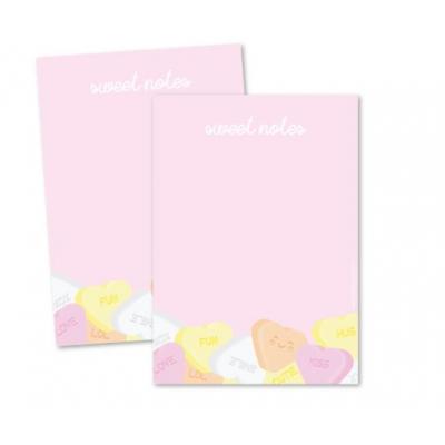 Memoblok A6 - Sweet Notes