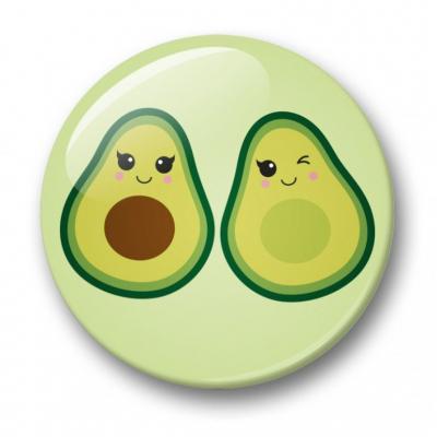 Avocado Button - 32mm