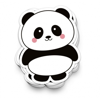 Sticker XL - Panda