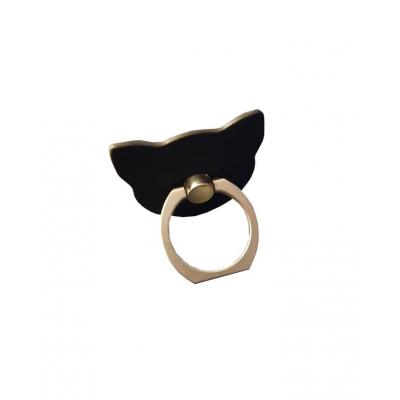 Kat Telefoon Ring (zwart)
