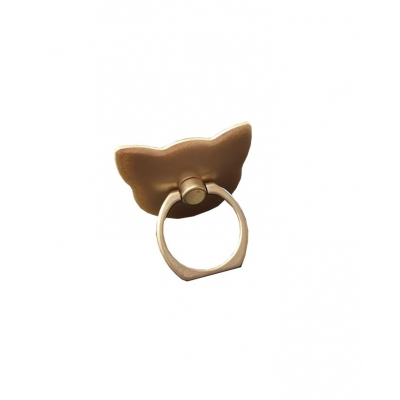Kat Telefoon Ring (goud)