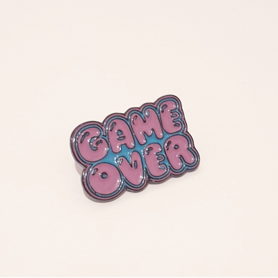 Game Over Pin