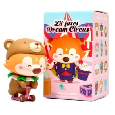 Pop Mart x Lil' Foxes Dream Circus Collectibles (Blind Box)