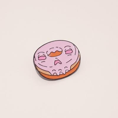 Creepy Donut Pin