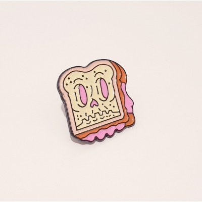 Creepy Sandwich Pin