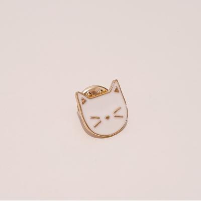 Cat Pin (White)