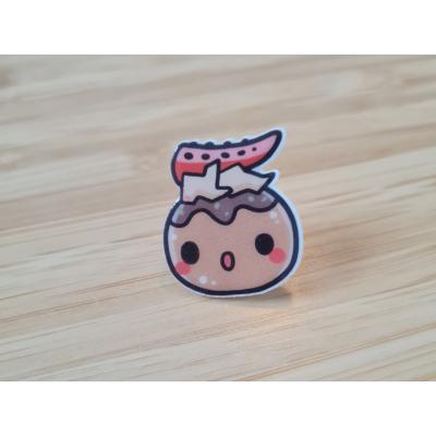 Sushi Takoyaki Acrylic Pin